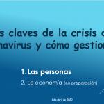 Las claves de la crisis del coronavirus y cómo gestionarla